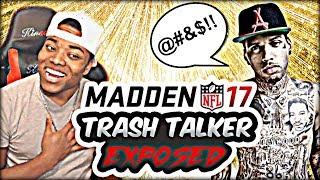 Madden 17 trash talk | 50 point spot handicap unfair | madden  17 ultimate team gameplay