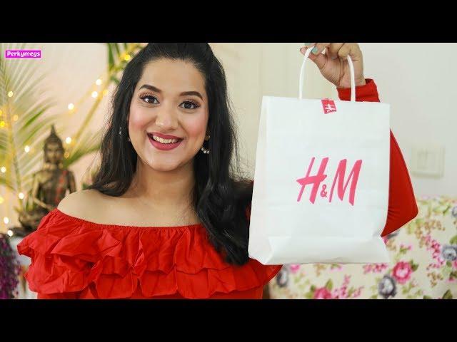 H&M Jewellery Try on Haul | Earrings Haul | Perkymegs