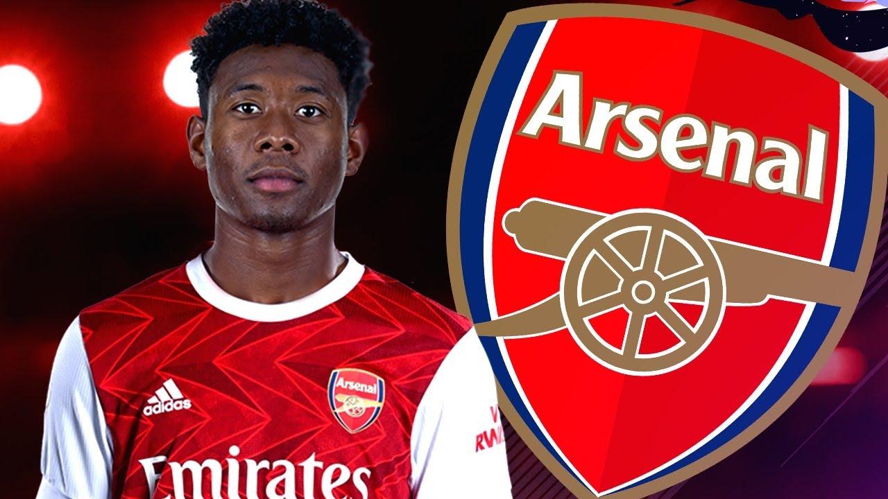 Transfer Bomba David Alaba semneaza cu Arsenal !    FIFA ...