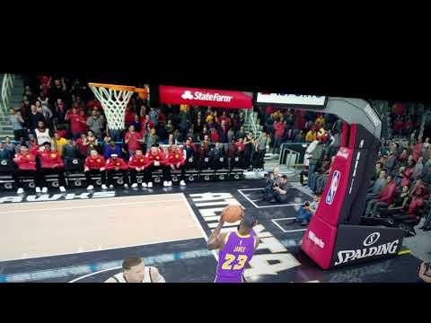 NBA Live 19 Airball Dunk