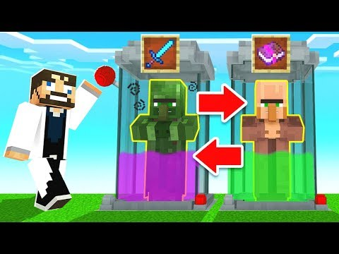 DID YOU KNOW you can trade with ZOMBIES!? (Minecraft)