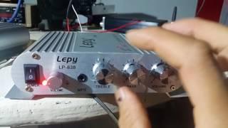 dùng thử âm ly mini 2.1 lepy 838 220k mua hàng lh 0964867866
