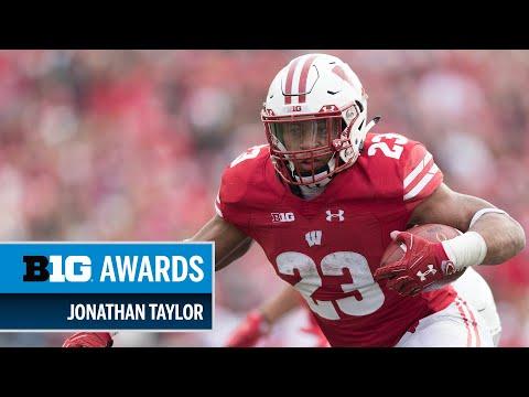 Wisconsin Badgers - Jonathan Taylor, Michael Deiter receive Big Ten football awards