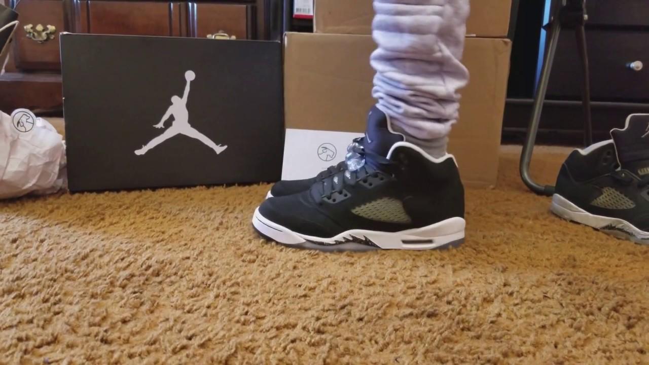 On Feet Only! Jordan Retro 5 \