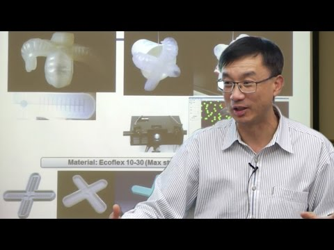 RI Seminar: Michael Wang : From Compliant Mechanisms to Hyper-Elastic Robots