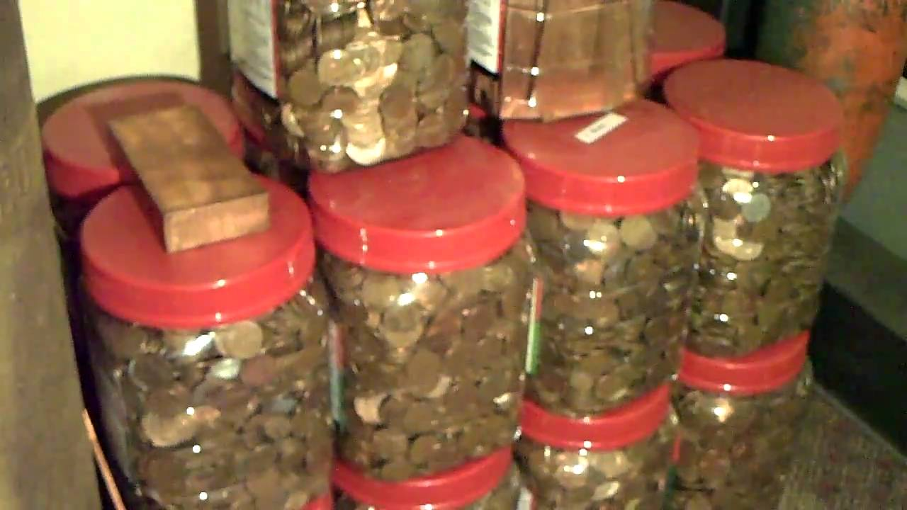 Saving Copper Pennies As An Investment Youtube