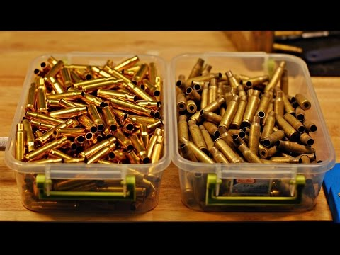 Processing Military 7.62x51mm Brass for Reloading