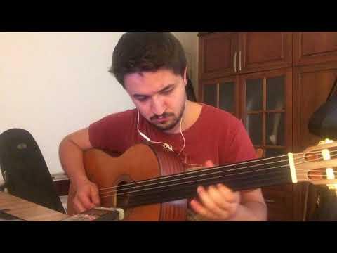 Sercan İke - Mor ve Ötesi - Cambaz ( intro - perdesiz gitar) #morveötesicover