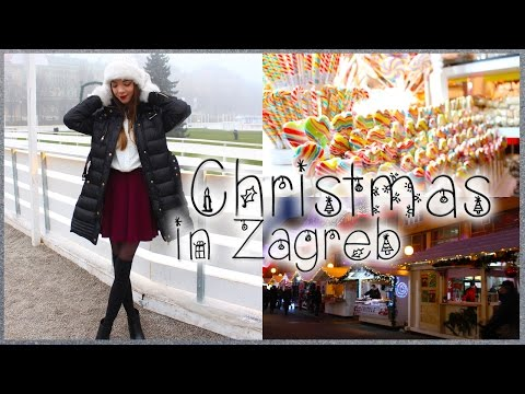 Winter Wonderland in Zagreb, Croatia & OOTD ♡