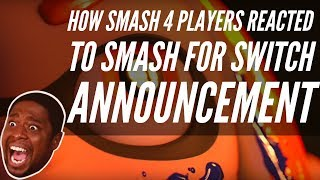 How SMASH 4 players reacted to SMASH for the Switch announcement!