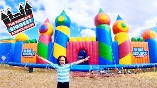 Big Bounce America - WORLD'S BIGGEST BOUNCE HOUSE!!!