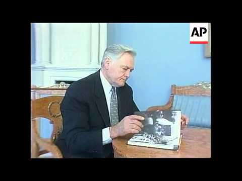 LITHUANIA: VILNIUS: 10TH ANNIVERSARY OF SOVIET ATTACK
