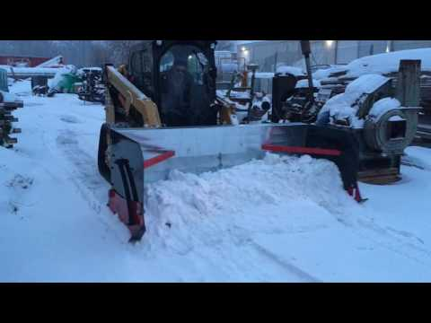Snow Push Box, JMS Manufacturing, Lakemoor, IL 60051