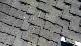 BAD  ROOFERS : BAD Installations ( How NOT to INSTALL A SHINGLES ROOF)