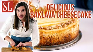 How to Make a Delicious Baklava Cheesecake | Southern Living