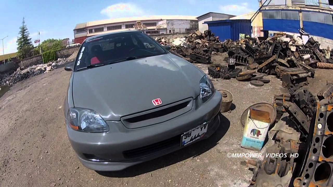 MMPower Honda Civic HB EK4 K20 JDM (SmokeSilver) Project ᴴᴰ - YouTube
