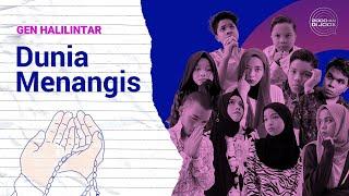 Download Gen Halilintar - Dunia Menangis | Official Lyric Video