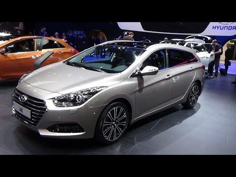 2016 Hyundai i40 CRDi Exterior and Interior 2015 Geneva Motor Show