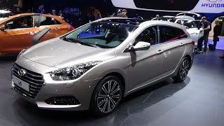 2016 Hyundai i40 CRDi Exterior and Interior 2015 Geneva Motor Show смотреть