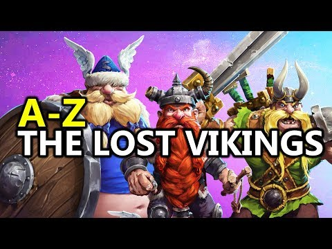 ♥ A - Z The Lost Vikings - Heroes of the Storm (HotS Gameplay)