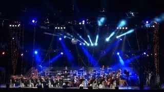 Star Wars par l'orchestre symphonique du Violon sur le Sable. 2015.