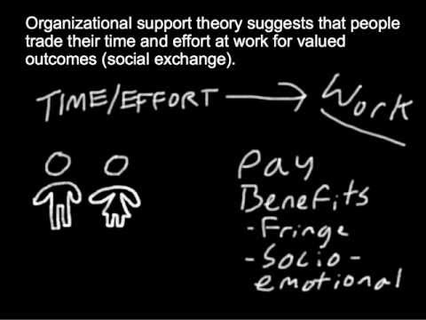 Employee Motivation: Social Exchange and Organizational Support Theory