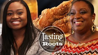 Tasting Our Roots: Chicken And Eggnog Waffles