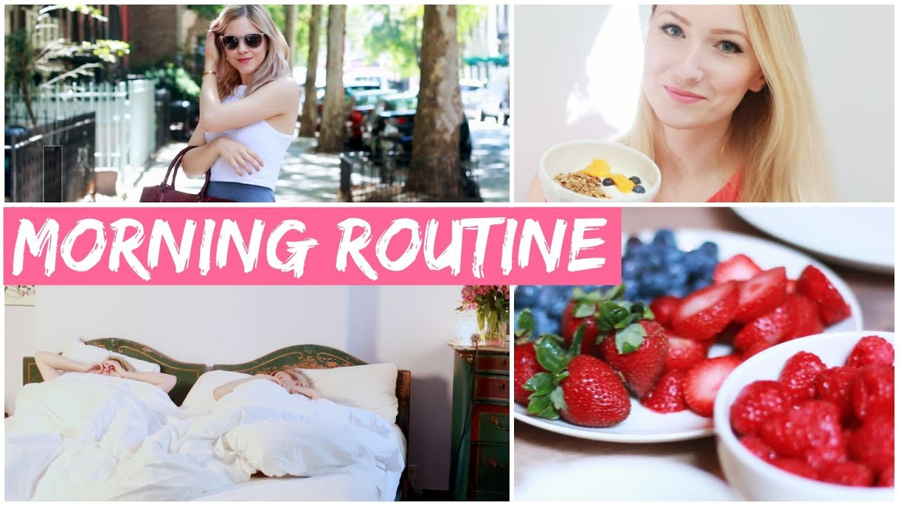 SUMMER MORNING ROUTINE I NEW YORK EDITION #Beautycruise