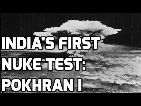 INDIA's FIRST NUCLEAR TEST:POKHRAN I: TOP 5 FACTS