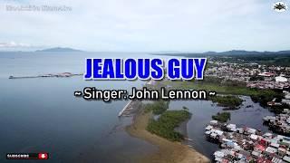 JEALOUS GUY - John Lennon Karaoke HD