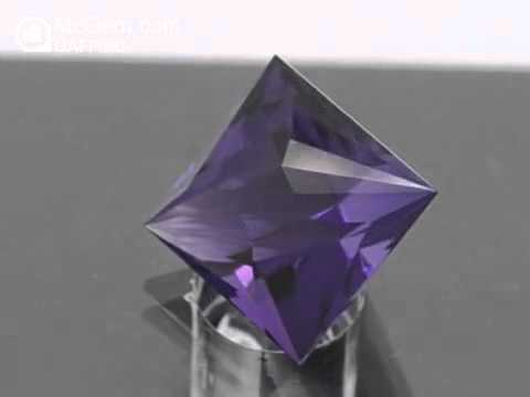 McGem Precision Cut Amethyst, cut on 160210 GAFF090
