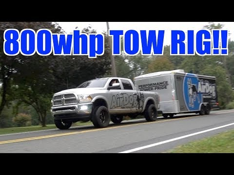 ULTIMATE 4TH GEN CUMMINS TOW RIG WITH 800HP!!!!