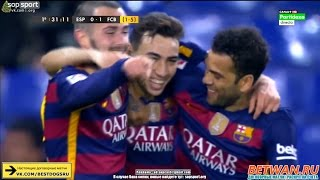 Video Gol Pertandingan Espanyol vs FC Barcelona