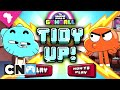 Gumball Games | Tidy Up! Playthrough | Cartoon Network