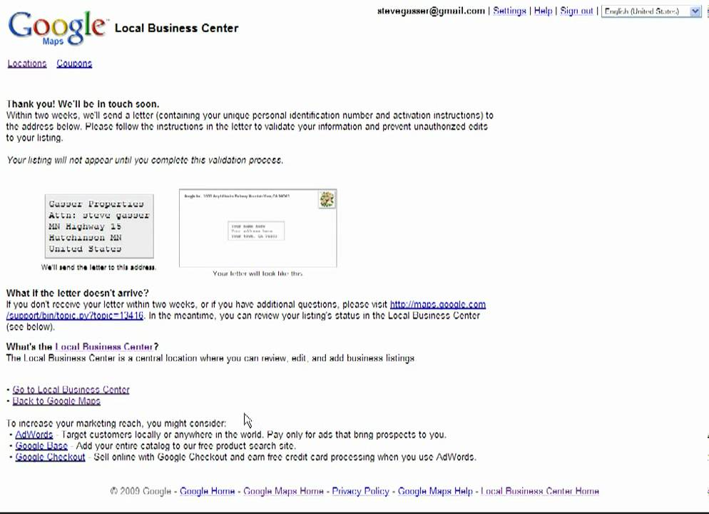 Edit Your Business Listing In Google Localgoogle Maps Youtube