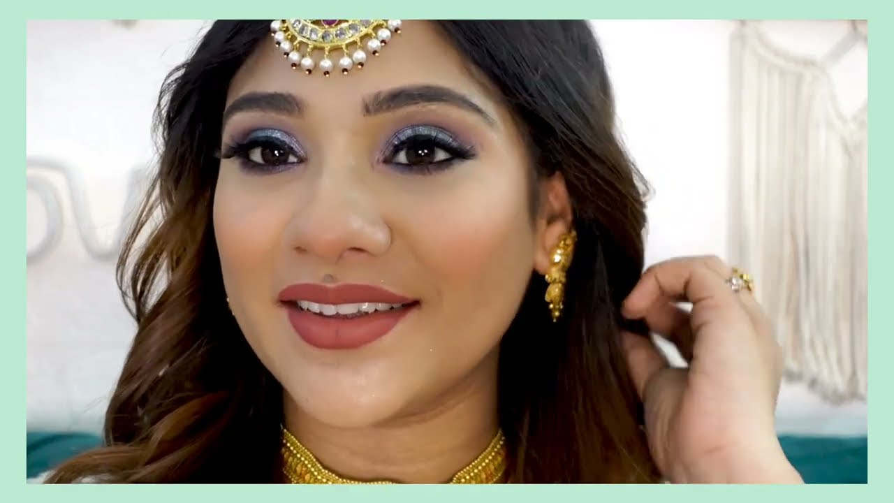 My Traditional God bharai Makeup look || shystyles