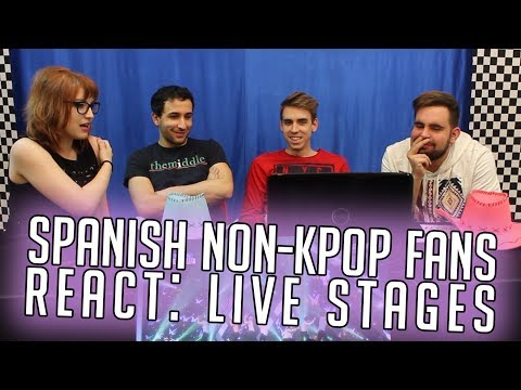 Spanish Non-Kpop Fans React: LIVE STAGES!