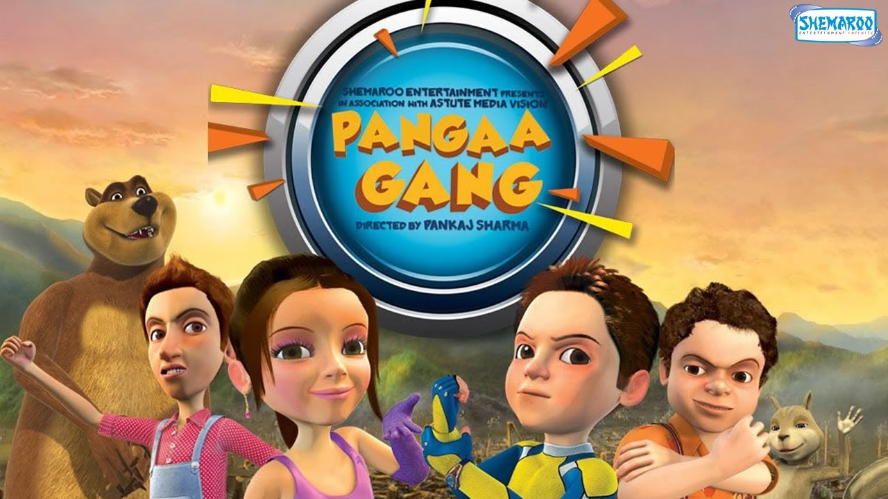 Pangaa Gang Animated HD Movie Watch Online