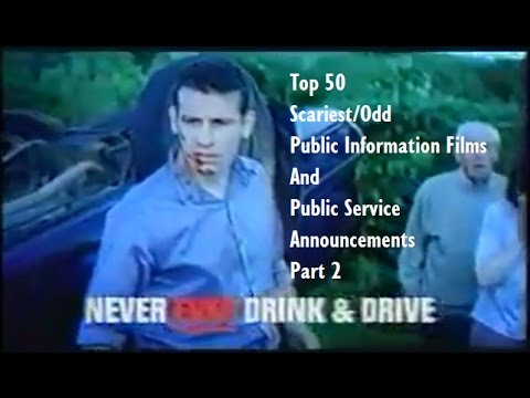 Top 50 Scariest/Odd Public Information Films And Public Service Announcements (Part 2/5)