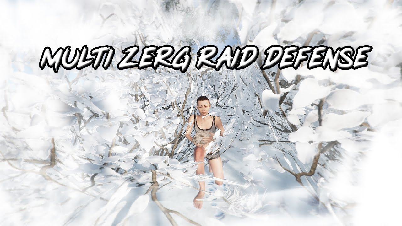 OUTNUMBERED 20 MAN RAID DEFENSE (Bully + Outlaw) + more RAID DEFENSE (ZZZ defends with 5)