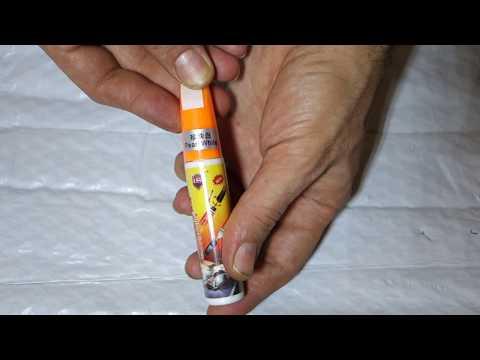 Серебрянный красящий карандаш Car Remover Scratch Repair Paint Pen