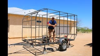 How To Build A Diy Travel Trailer -  The Frame   Part 1