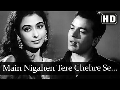 main-nigahen-tere-...-(hd)---aap-ki-parchhaiyan-song---dharmendra---nazir-hussain---leela-chitnis