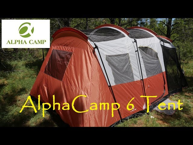 18766a802 THE NORTH FACE WAWONA 6 PERSON TENT OVERVIEW   TravelerBase ...