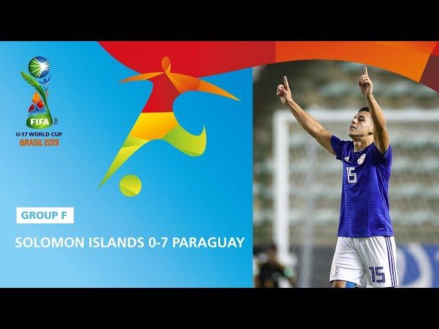 Solomon Isl. v Paraguay Highlights - FIFA U17 World Cup 2019 ™
