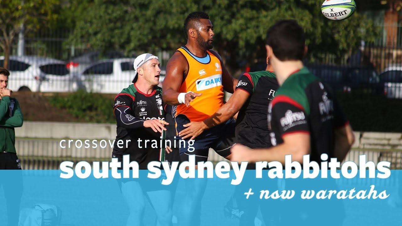South Sydney Rabbitohs Vs Nsw Waratahs Youtube