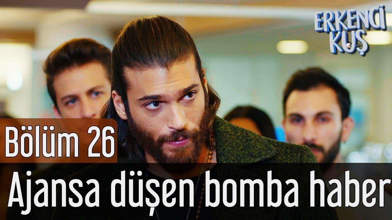 Erkenci Kuş 26. Bölüm - Ajansa Düşen Bomba Haber