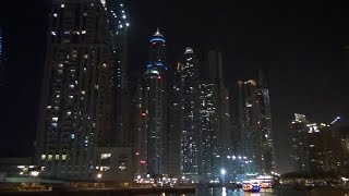 Dubai Marina By Night + Wspaniała Indyjka I Chińska Kuchnia - Dubai 07