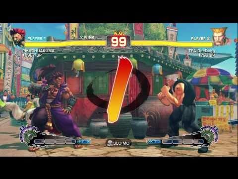 TFA DeeDogg ( GUILE ) VS JR RODRIGUEZ ( AKUMA ) SSFIV ENDLESS BATTLE MATCH ON XBOX 360