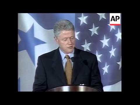 HONDURAS: US PRESIDENT CLINTON VISIT